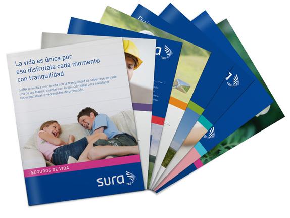 Sura, Brochures