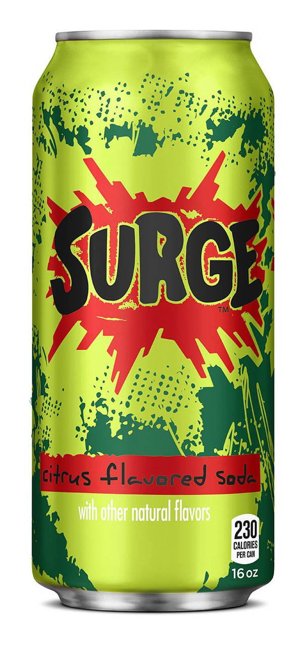 Somewhat New Packaging for Surge done In-house