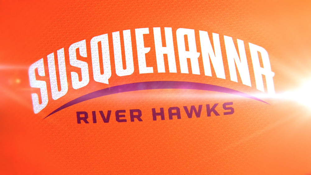 New Logos for Susquehanna River Hawks by Bosack & Co.