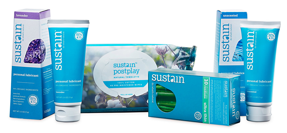 New Logo and Packaging for Sustain Natural by Karim Rashid