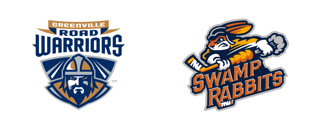 New Name and Logos for Greenville Swamp Rabbits by Brandiose
