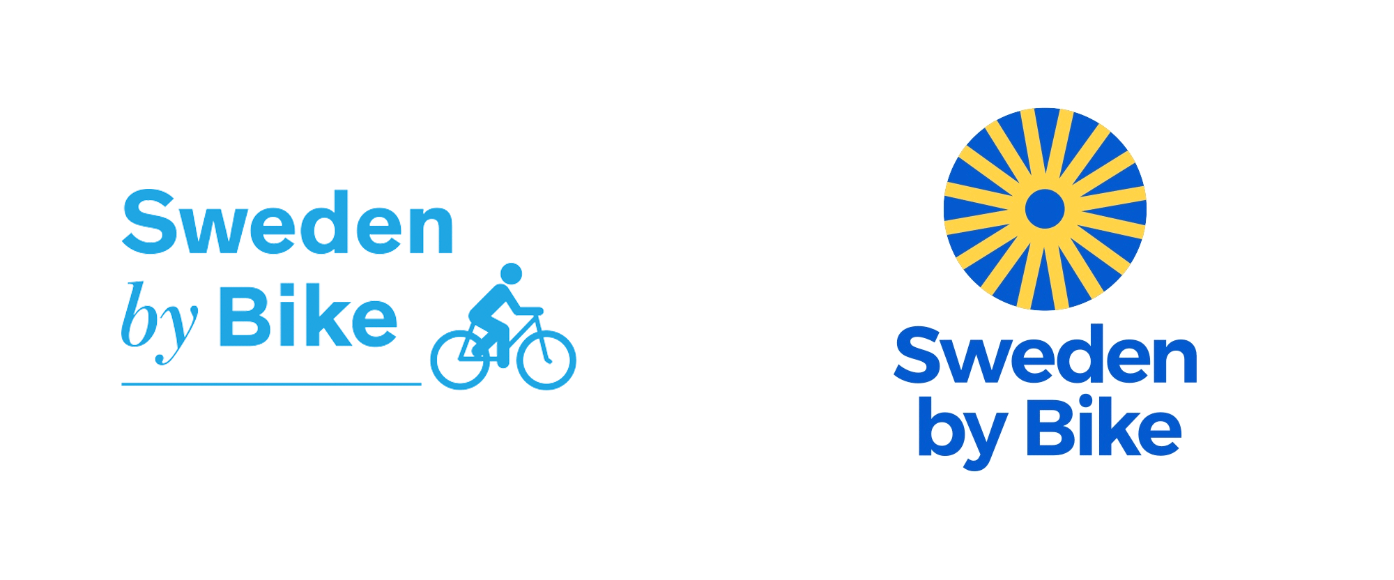 New Logo for Sweden by Bike by Glauser Creative