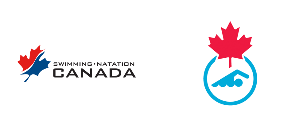 New Logo and Identity for Swimming Canada by Hulse & Durrell