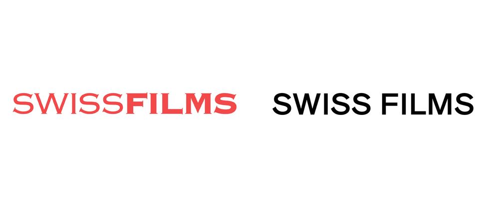 New Logo and Identity for SWISS FILMS by Studio NOI