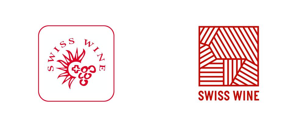 New Logo for Swiss Wine Promotion by Winkreative