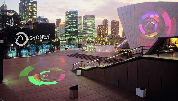 Brand Sydney takes over the Sydney Opera House