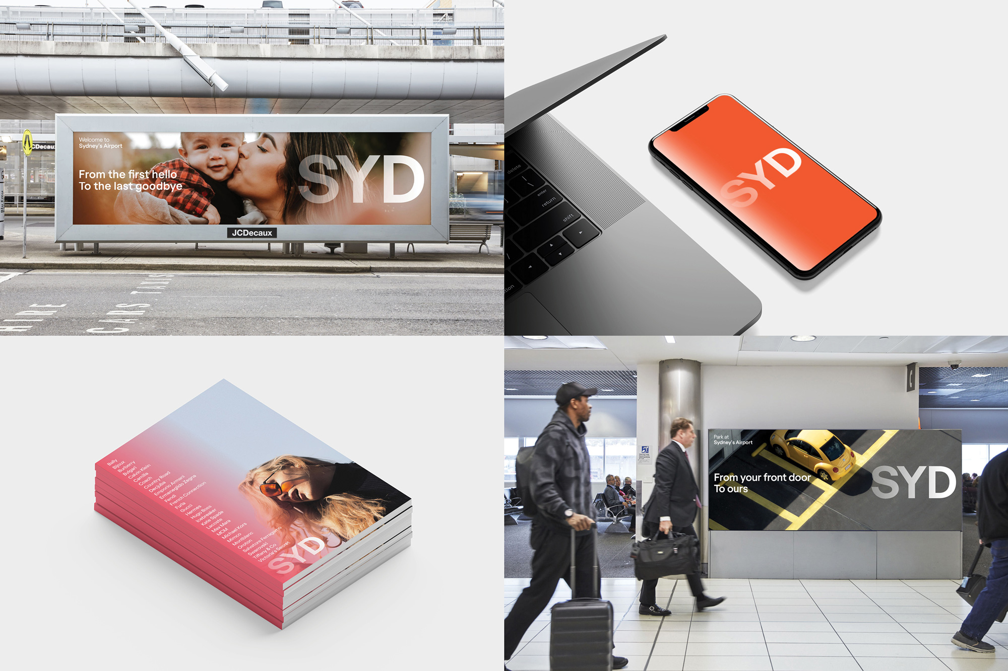 New Logo and Identity for Sydney Airport by Frost* Design