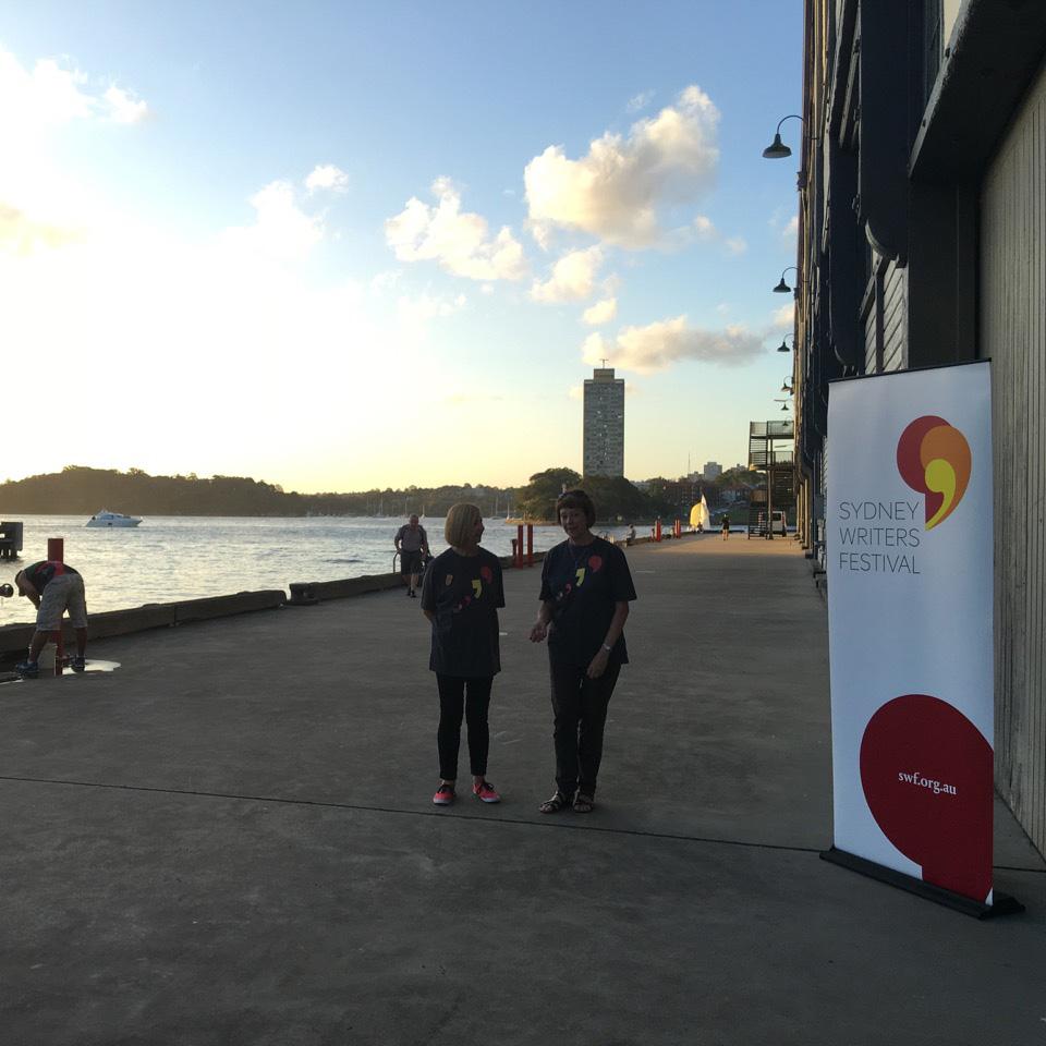 New Logo for Sydney Writers' Festival by 18 Feet