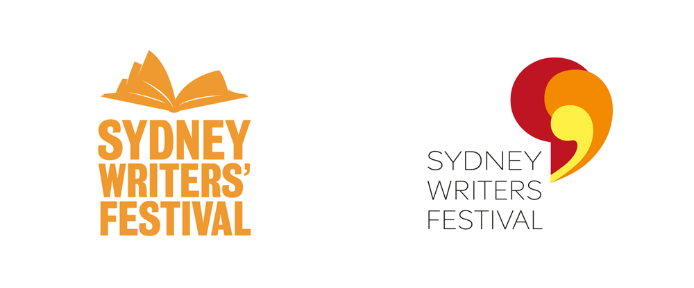 New Logo for Sydney Writers' Festival by 18 Feet