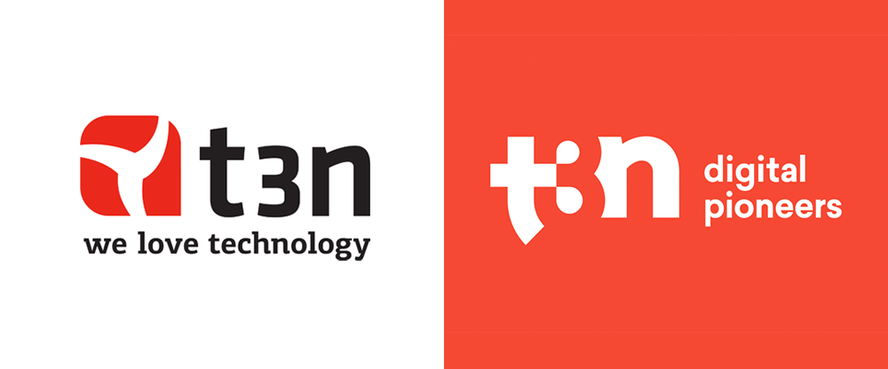 New Logo for t3n by Kolle Rebbe