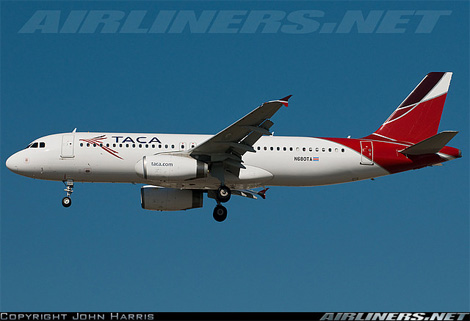 TACA Airlines Livery