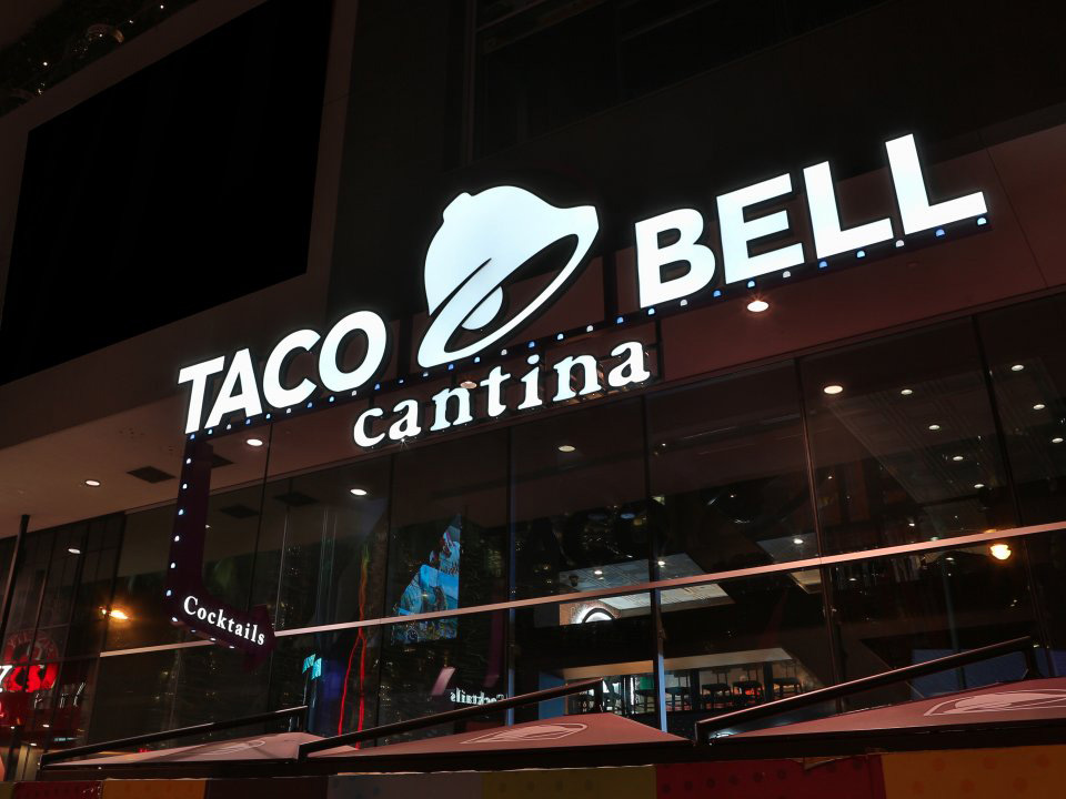 Brand New New Logo For Taco Bell By Lippincott And In House