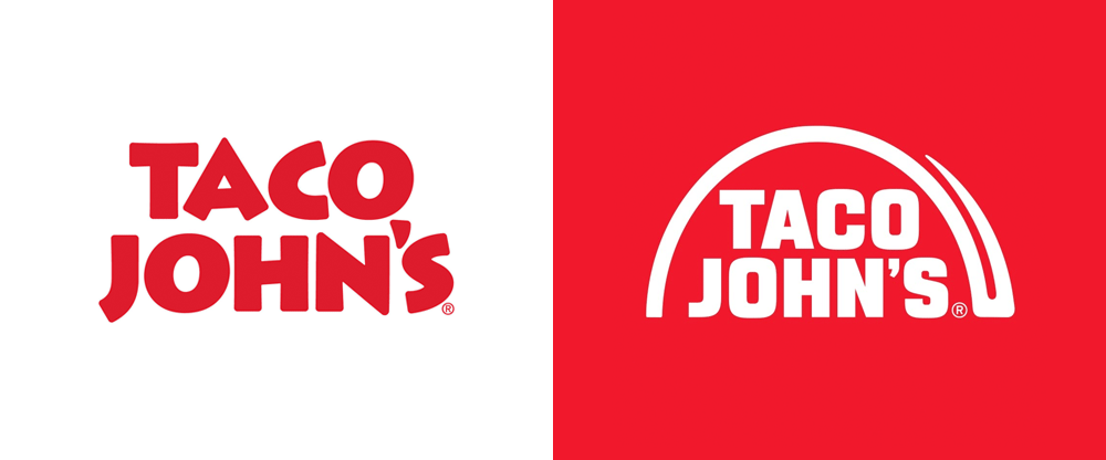 New Logo for Taco John's