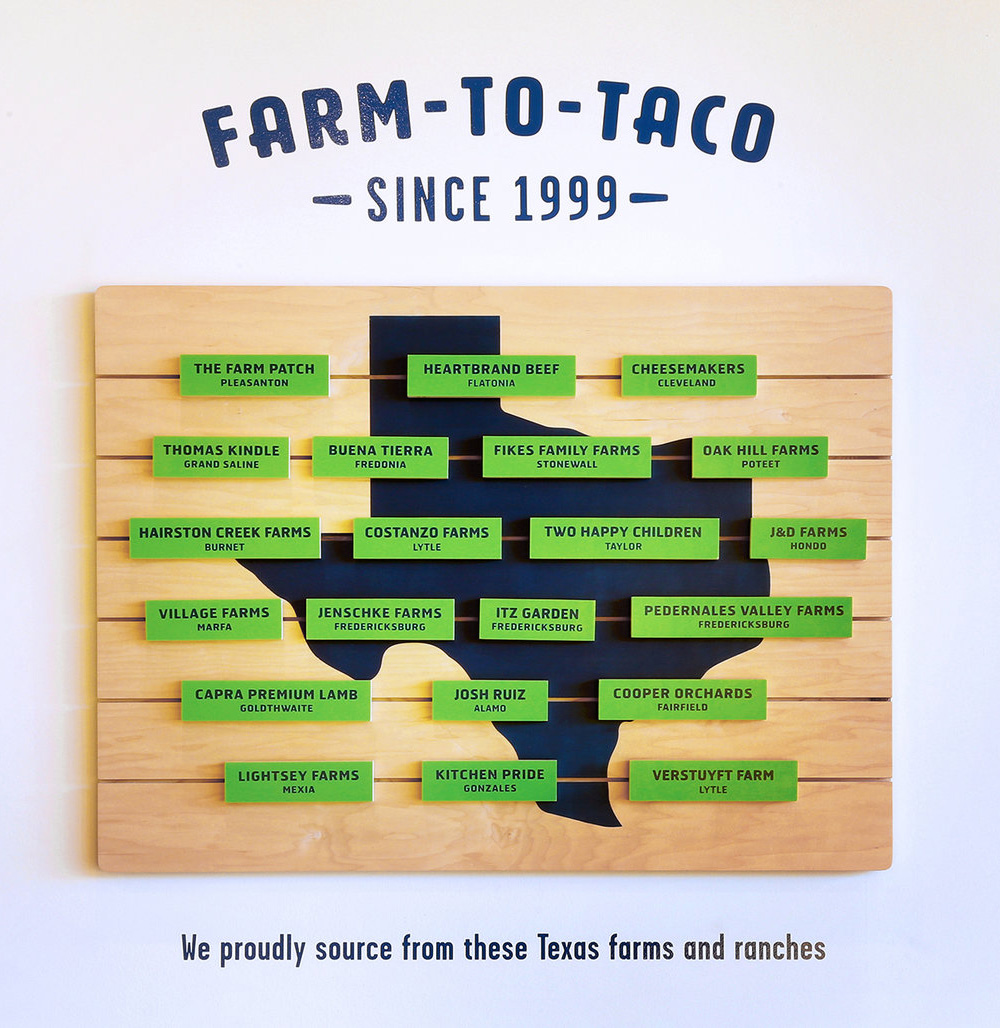New Logo and Identity for Tacodeli by The Butler Bros