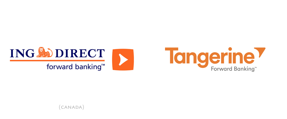 New Logo and Name for ING Direct Canada by Concrete and Lexicon