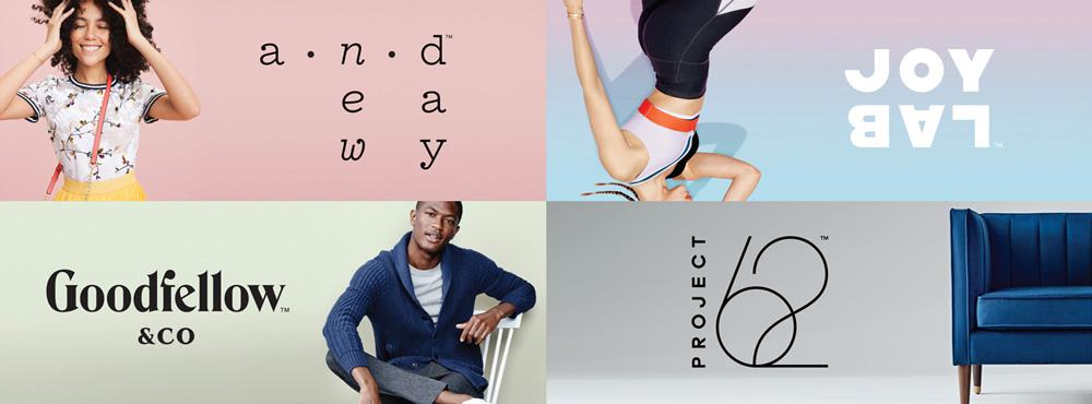 Target New Brands × 4