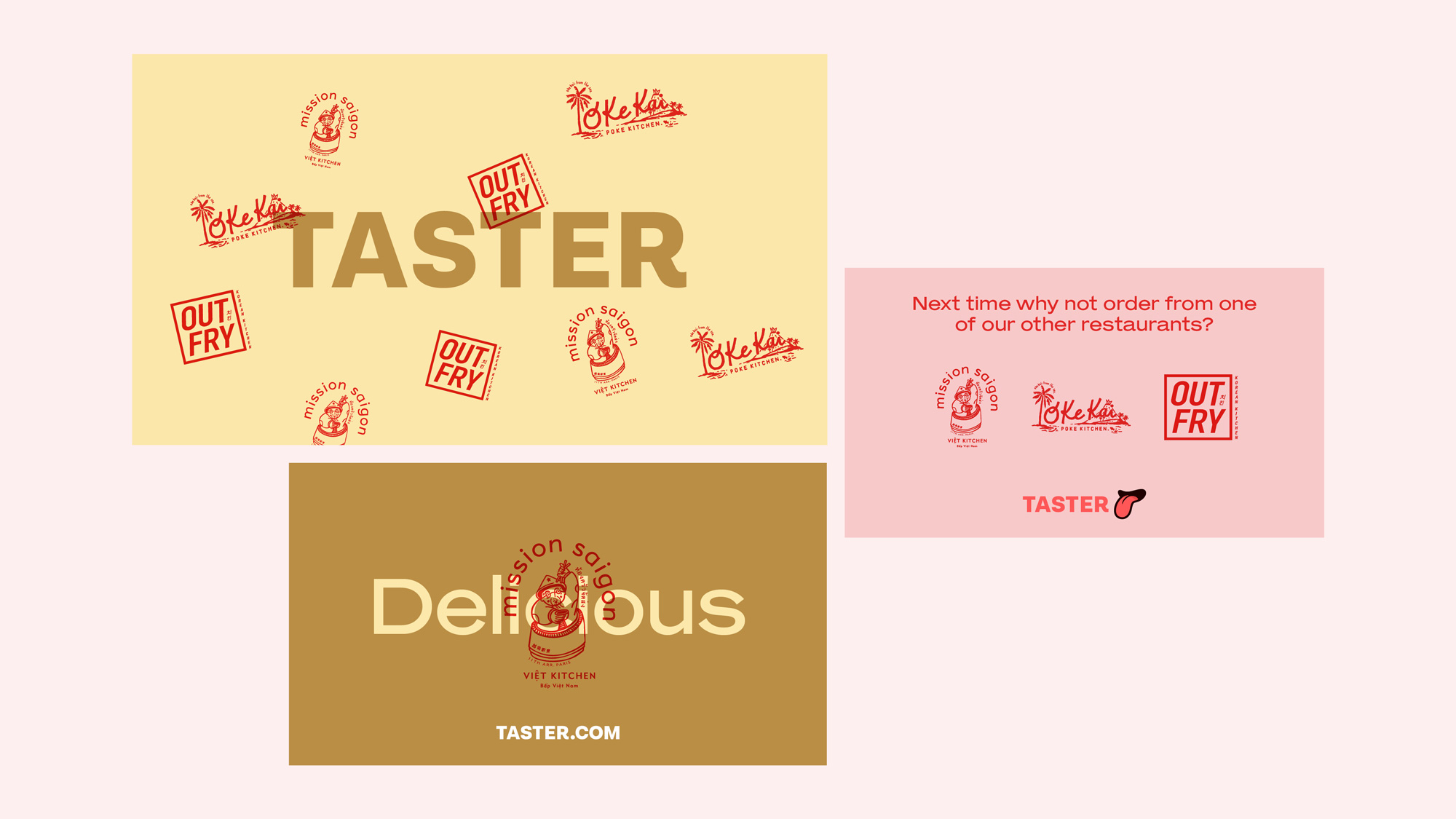 New Name, Logo, and Identity for Taster by Koto