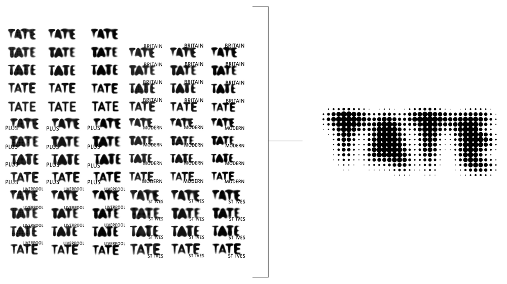 New Logo and Identity for Tate by North