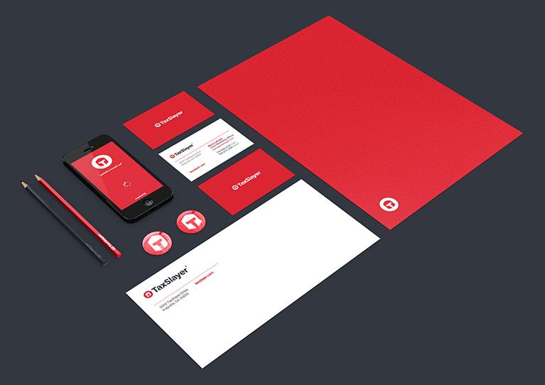 New Logo and Identity for TaxSlayer by Wier / Stewart
