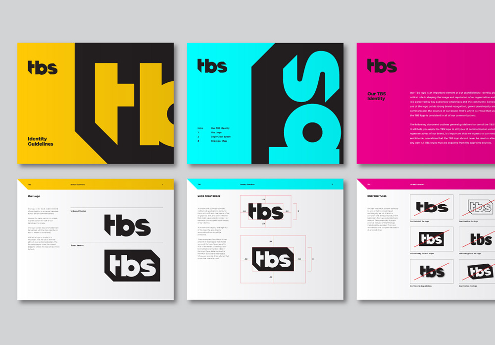New Logo for TBS by Sean Heisler and On-air Look done In-house