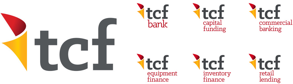 New Logo and Identity for TCF Bank by Periscope