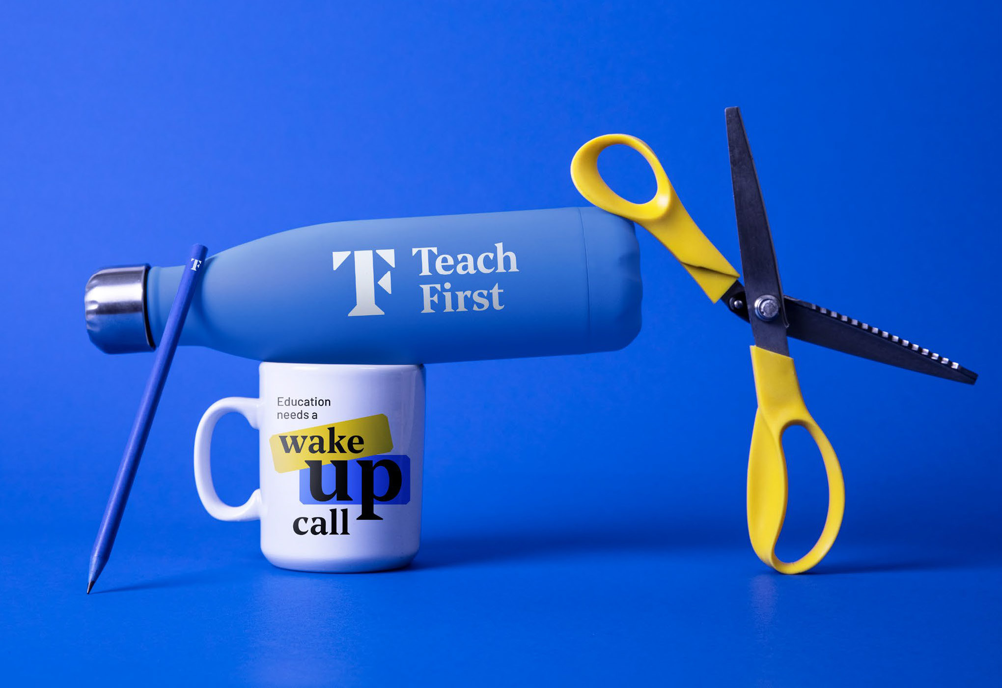 New Logo and Identity for Teach First by Johnson Banks