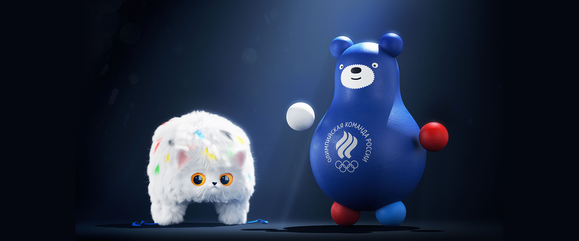 New Mascots for Team Russia by Art. Lebedev Studio