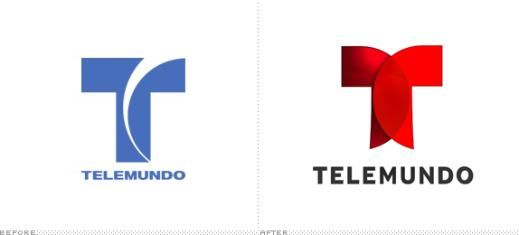 Telemundo Logo, Before and After
