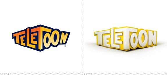 Teletoon Logo, Before and After