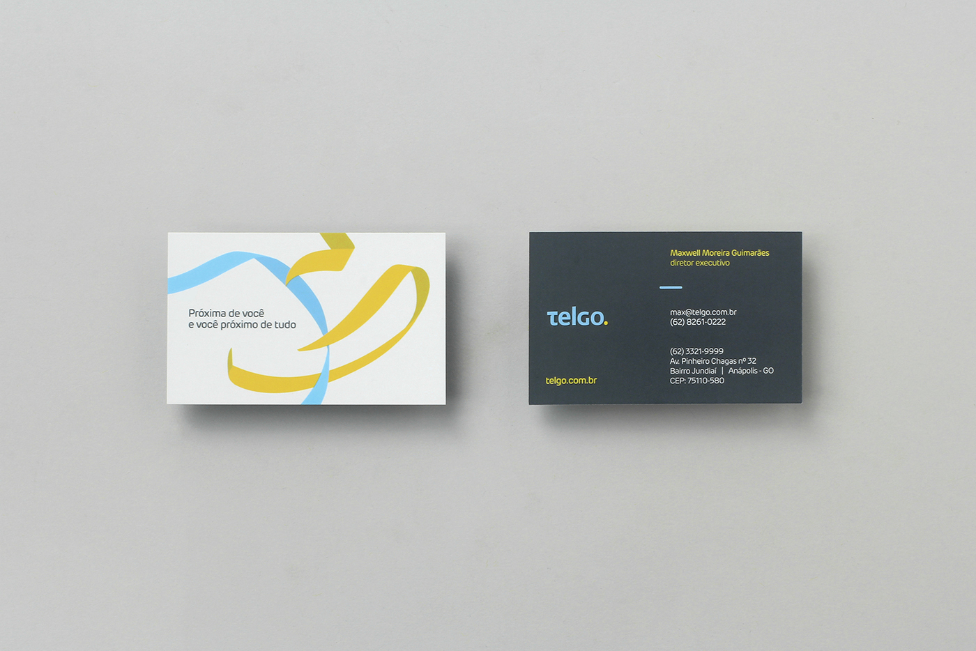 New Logo and Identity for Telgo by BR/BAUEN