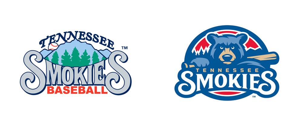 New Logos for Tennessee Smokies by Studio Simon