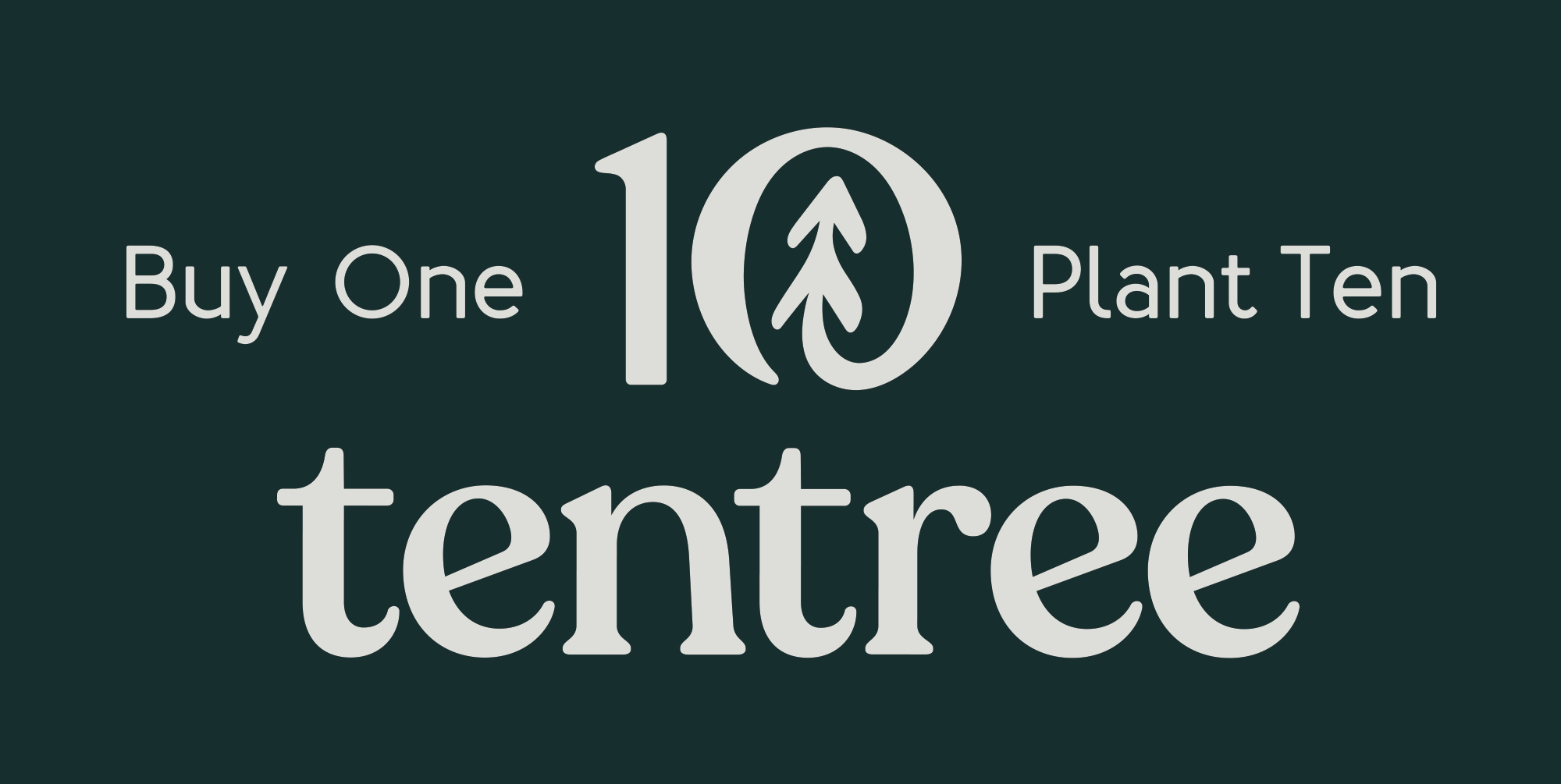 New Logo and Identity for Tentree done In-house with Sid Lee