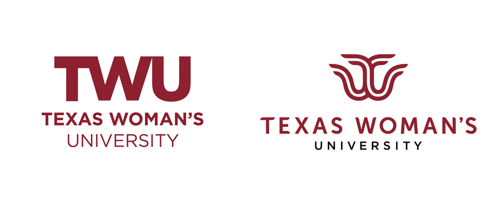 New Logos to Texas Woman's University by Commerce House