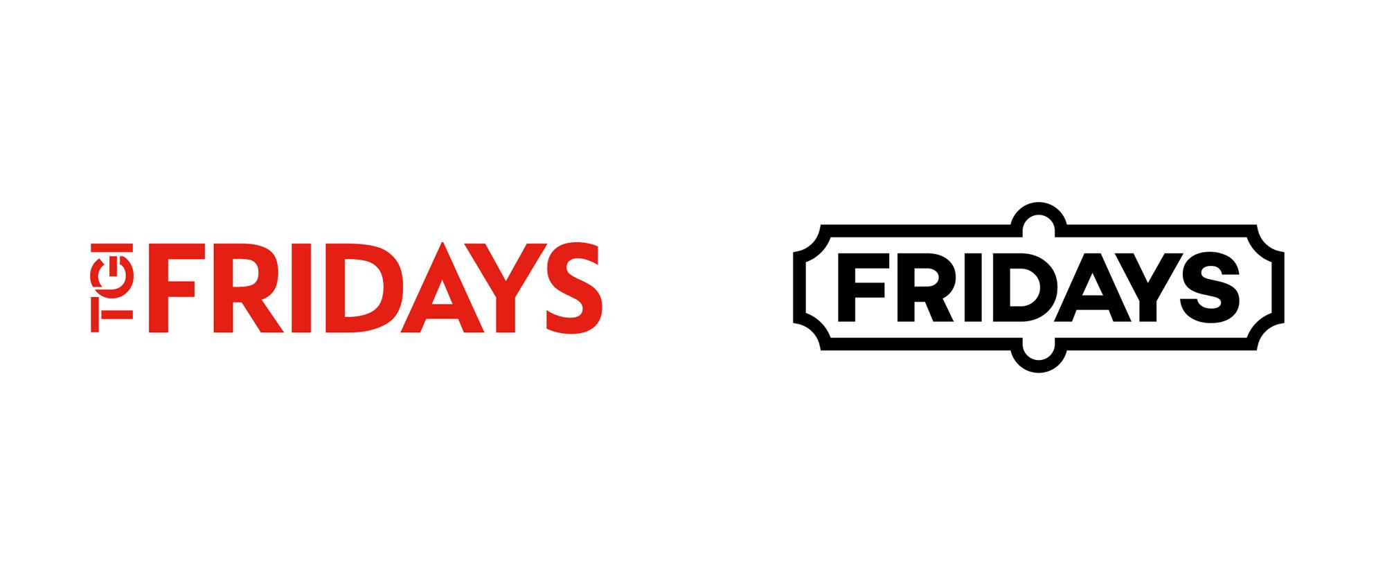 New Logo for TGI Fridays UK