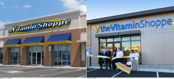 The Vitamin Shoppe Logo and Retail