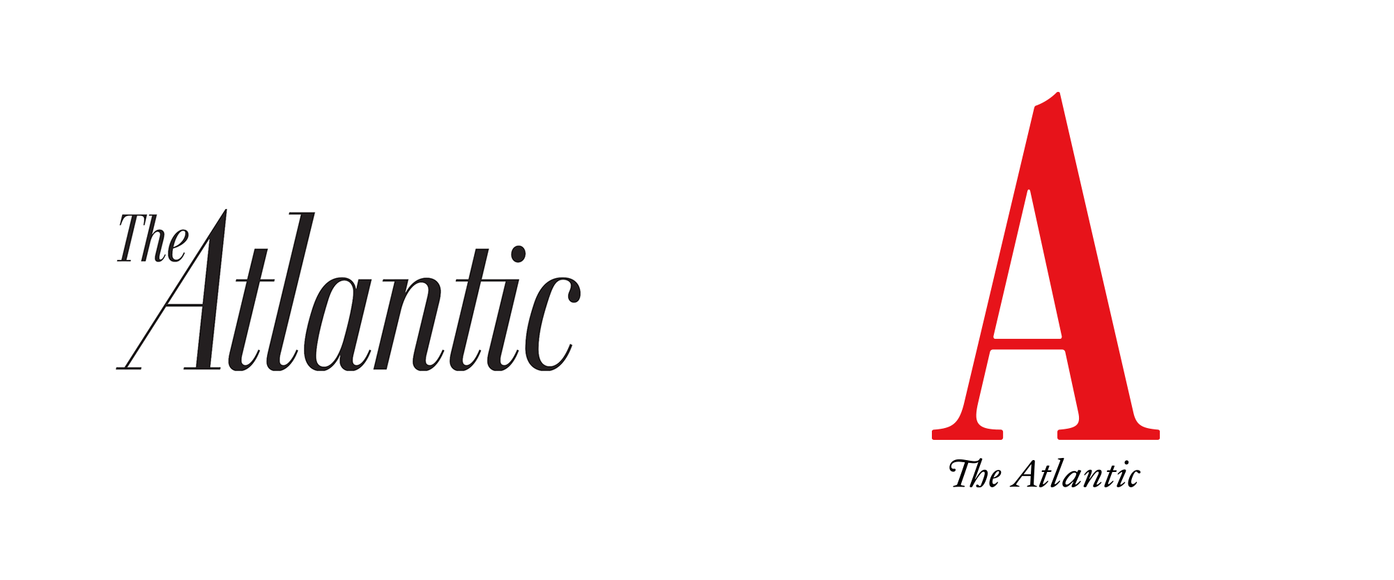 New Logo and Cover for The Atlantic done In-house