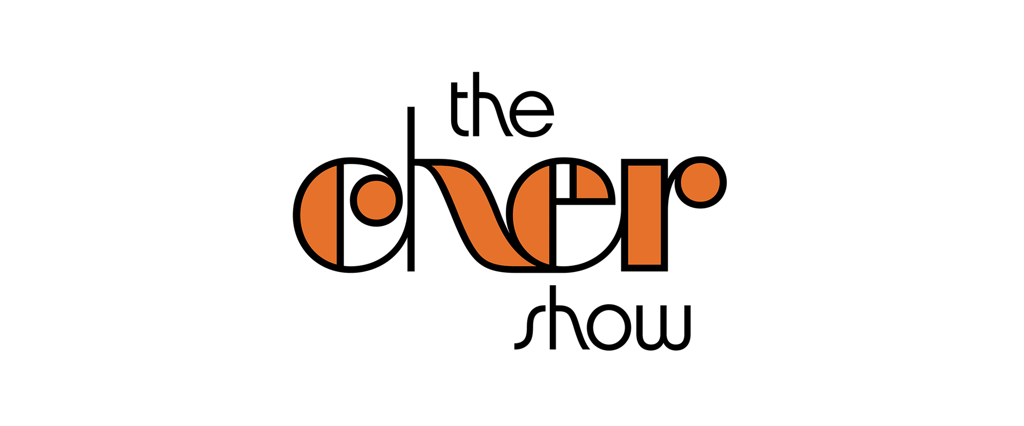 "New Logo for ""The Cher Show"" by House Industries"