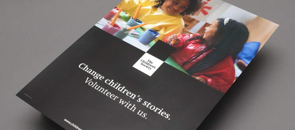 New Logo and Identity for The Children's Society by SomeOne