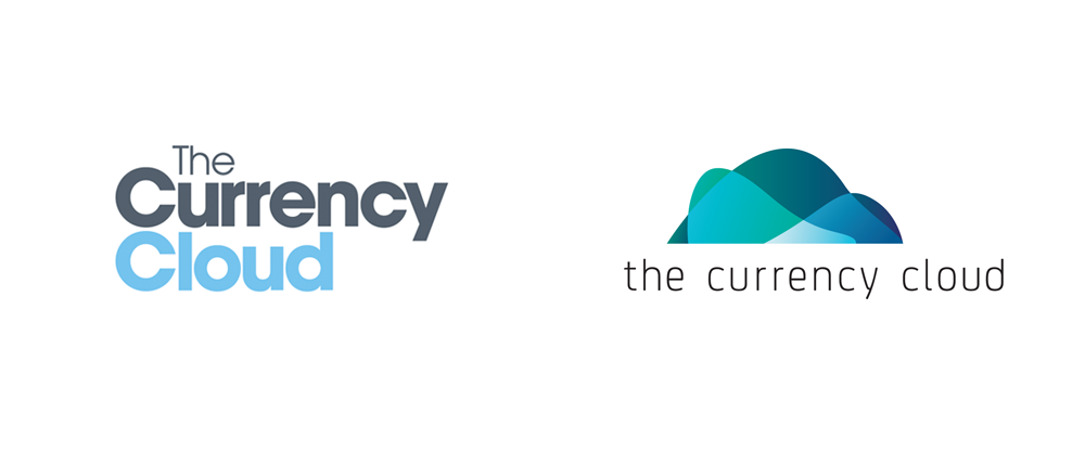 brand new new logo and identity for the currency cloud by corporate