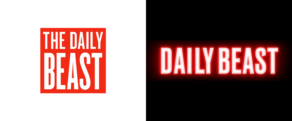 New Logo for The Daily Beast done In-house