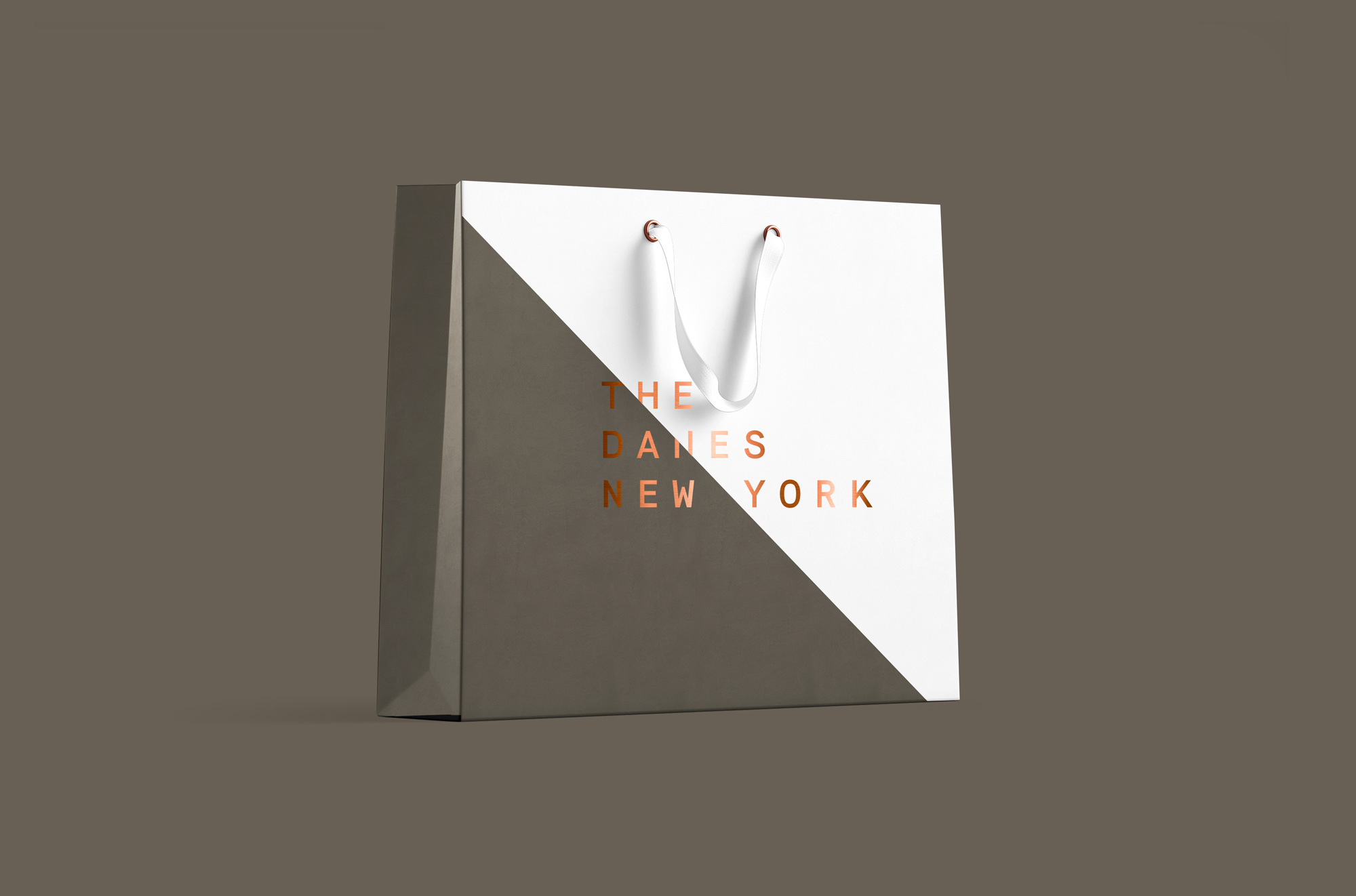 New Logo and Identity for The Danes New York by Young & Laramore