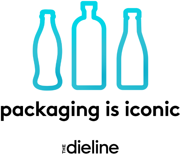New Logo for The Dieline by Pearlfisher