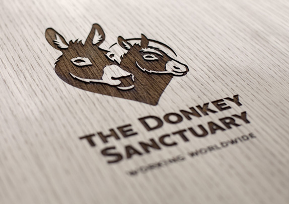 The Donkey Sanctuary Logo and Identity