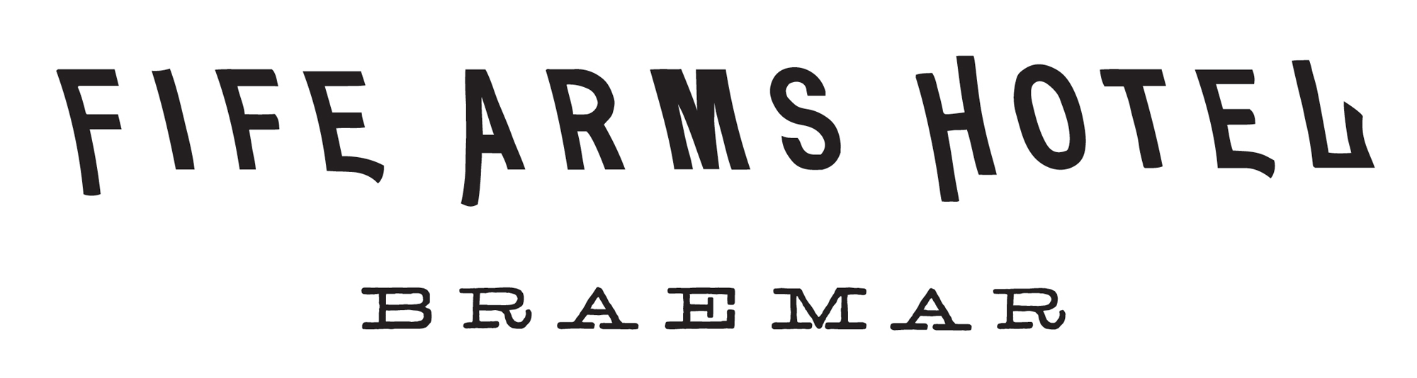 New Logo and Identity for The Fife Arms by Here Design