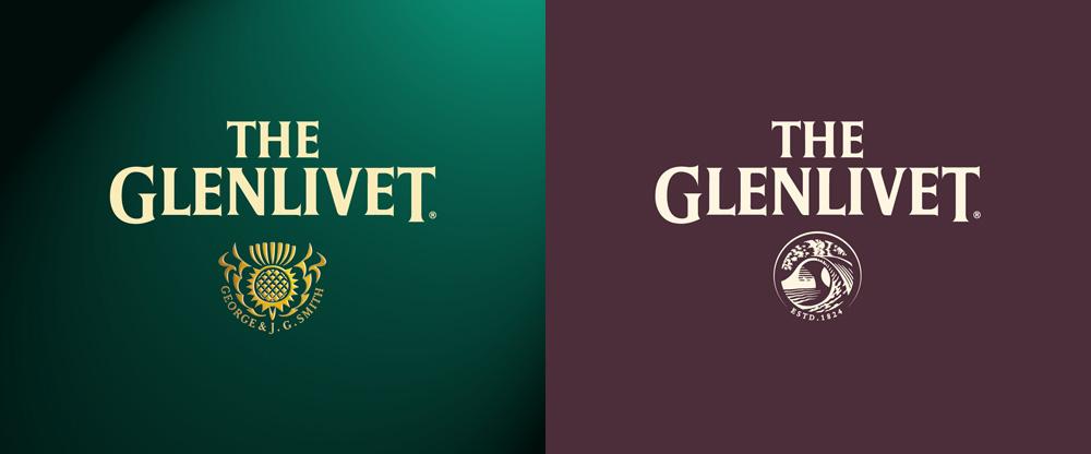 New Logo for The Glenlivet by SomeOne
