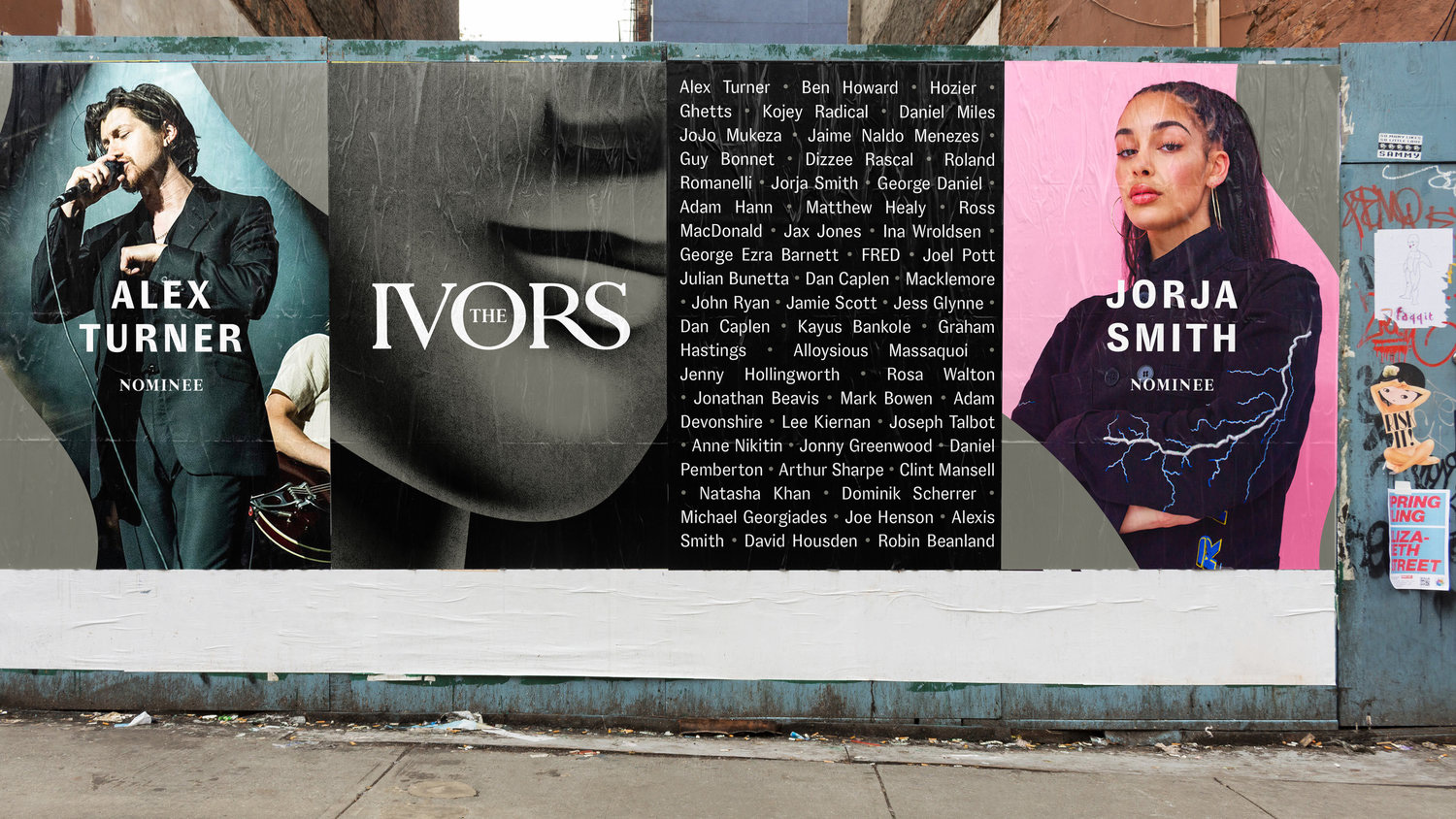 New Logo and Identity for The Ivors by The Playground