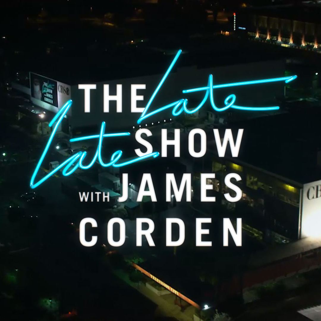 New Logo and Show Open for The Late Late Show with James Corden by Trollbäck+Company