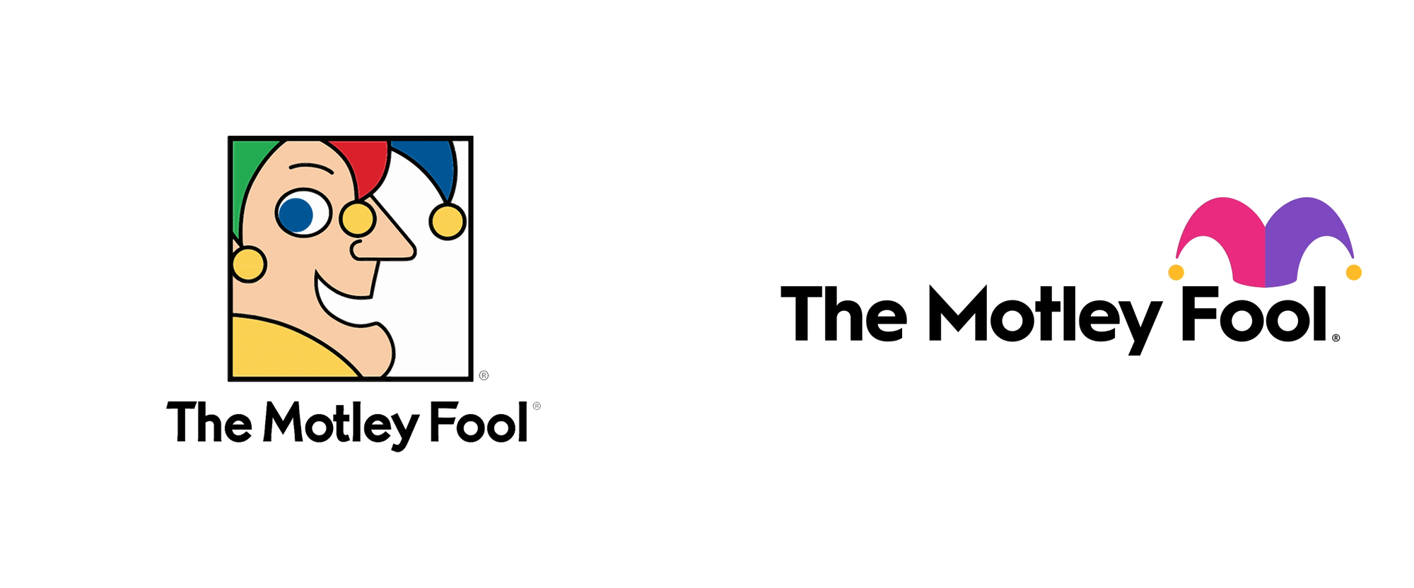 New Logo and Identity for The Motley Fool by Pentagram