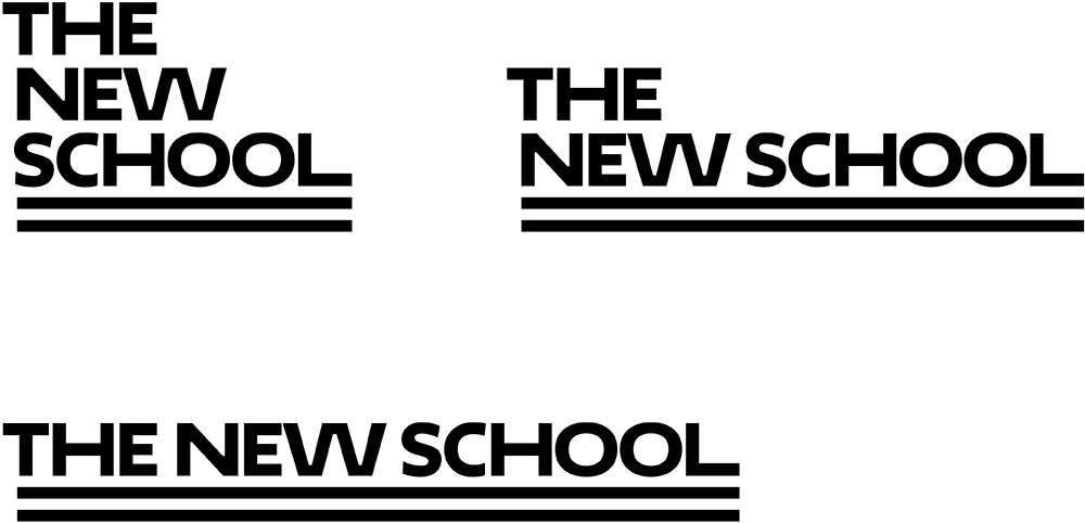 New Logo and Identity for The New School by Pentagram