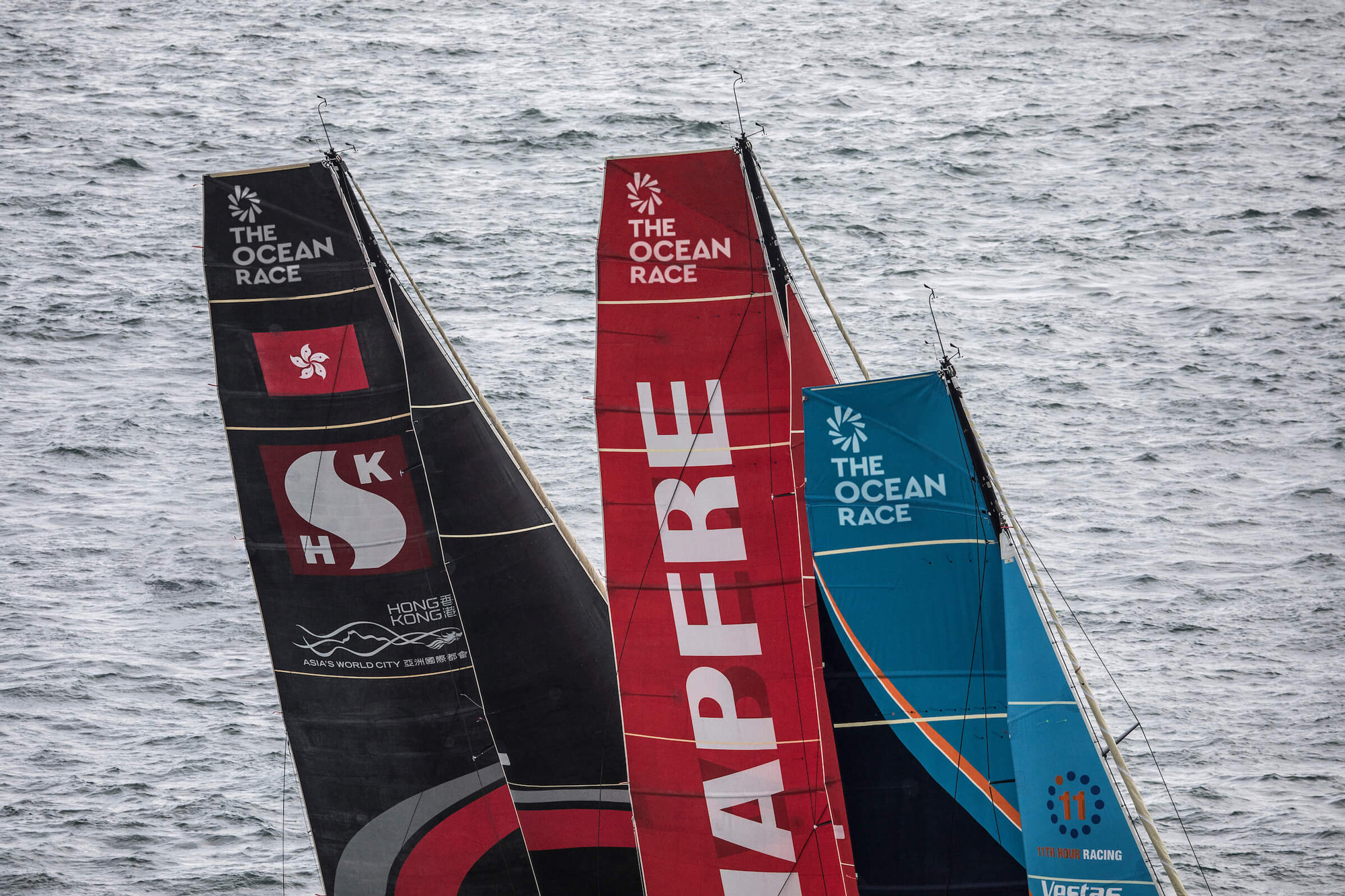 New Logo and Identity for The Ocean Race by Mucho